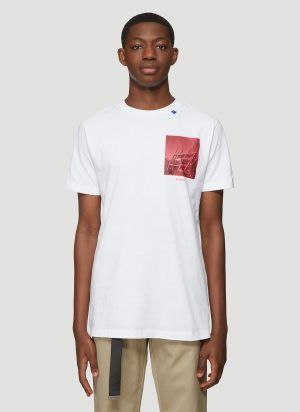 Off-White Halftone Arrows T-Shirt in White size L