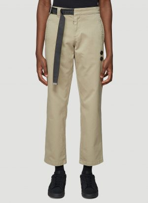 Off-White Industrial Belt Chino Pants in Beige size 32