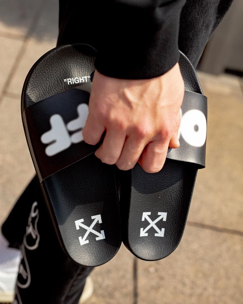 Off-White Exclusive Slides $230