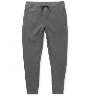 Polo Ralph Lauren - Tapered Jersey Sweatpants - Men - Gray