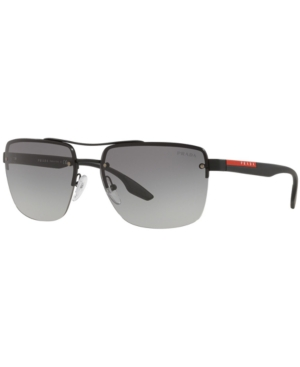Prada Linea Rossa Sunglasses, Ps 60US 62 Lifestyle