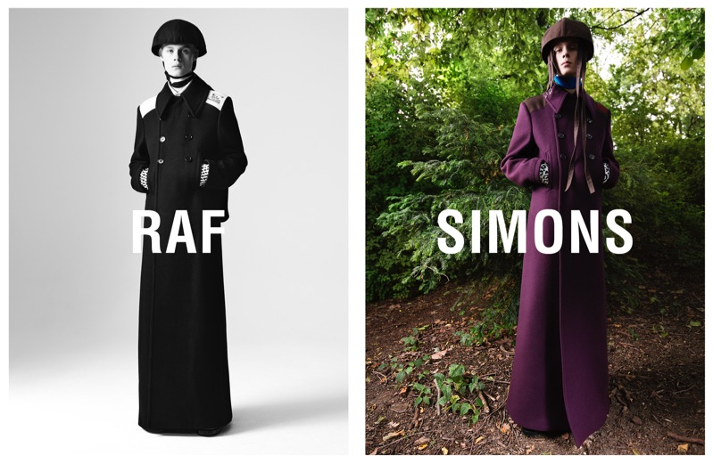 Maoro Bultheel fronts Raf Simons' fall-winter 2019 campaign.