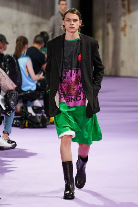 Raf Simons Proposes Lab Style with Spring '20 Collection