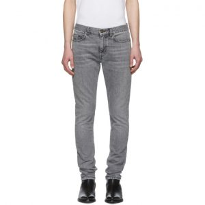 Saint Laurent Grey Skinny Jeans