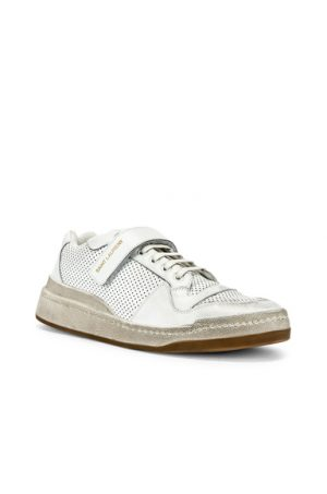 Saint Laurent Jeddo Low Tops in White. - size 43 (also in 42,41,45,41.5)