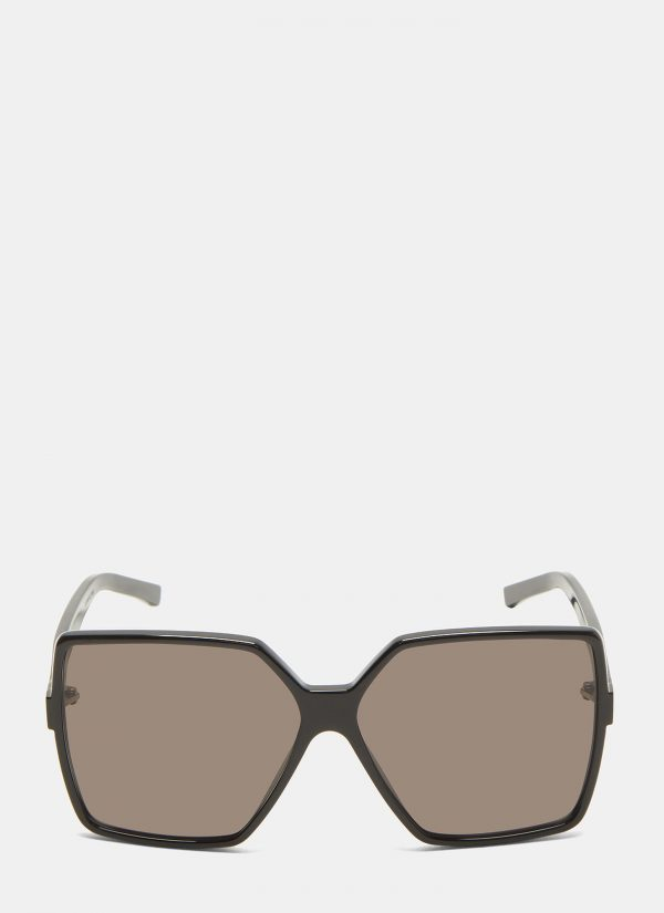 Saint Laurent New Wave 232 Betty Sunglasses in Black size One Size