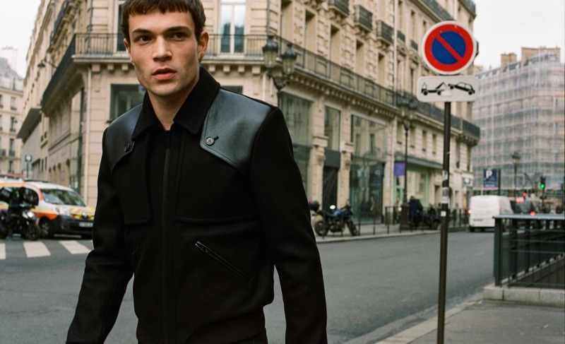 Luka Isaac Takes to Paris in Saint Laurent for Matches Fashion