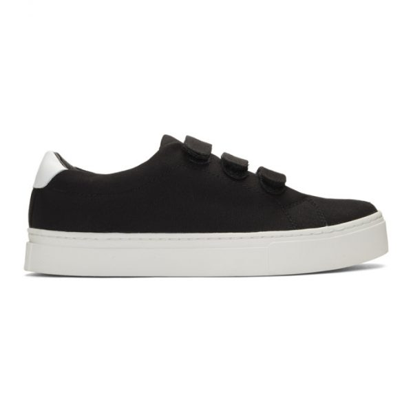 Saturdays NYC Black Canvas Vincent Sneakers