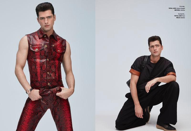 Sean O'Pry Serves Looks for Issue Man Cover Story