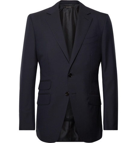 TOM FORD - Navy O'Connor Slim-Fit Wool Suit Jacket - Men - Navy