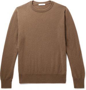 The Row - Benji Slim-Fit Cashmere Sweater - Men - Camel