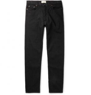 The Row - Bryan Denim Jeans - Men - Black
