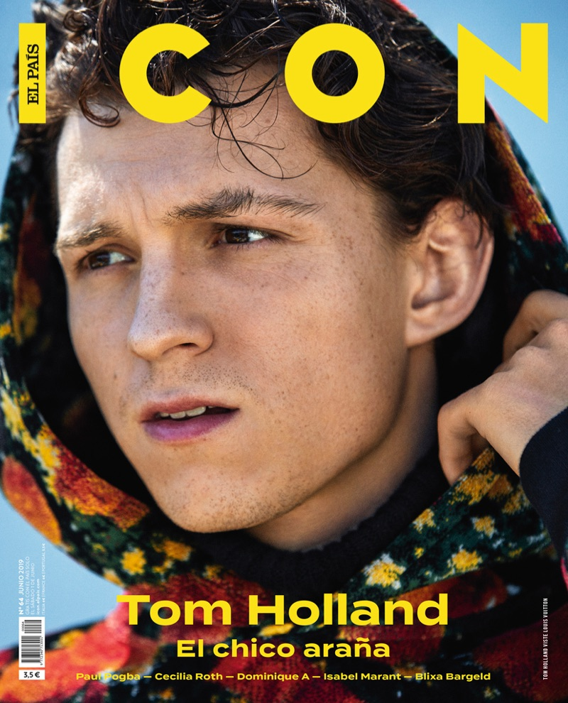 Tom Holland covers Icon El País' June 2019 issue.