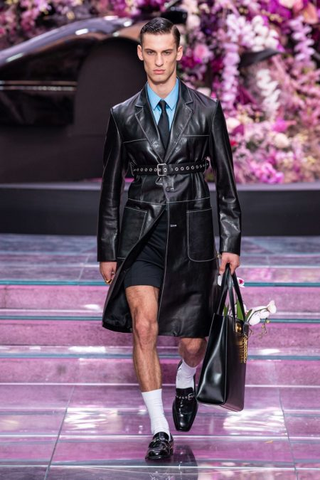 The Prodigy Frontman Keith Flint Serves as Muse for Versace Spring '20 Collection