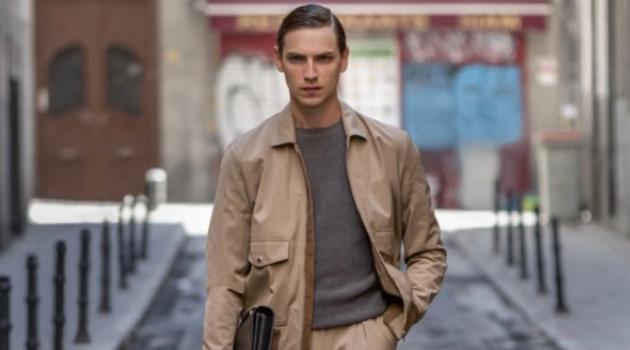Victor Norlander Dons Elegant Menswear for Forbes España