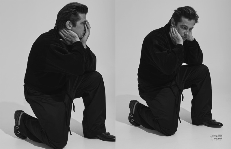 Werner Schreyer is Peak Fashion Model for Zoo Cover Story