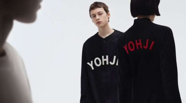 Alan Solonchuk stars in Y-3's fall-winter 2019 campaign.