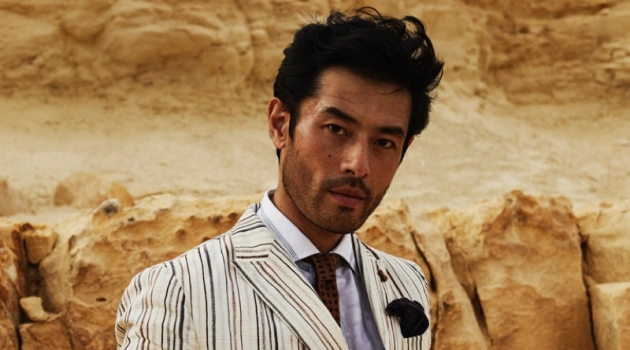 Yusuke Ogasawara Dons Chic Summer Style for The Rake