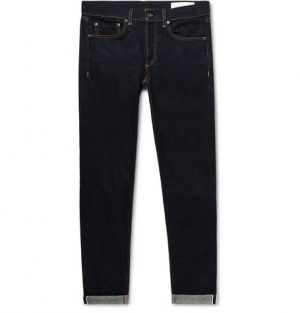 rag & bone - Fit 1 Skinny Selvedge Denim Jeans - Men - Dark denim