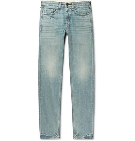 rag & bone - Fit 2 Slim-Fit Denim Jeans - Men - Blue