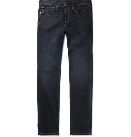 rag & bone - Fit 2 Slim-Fit Stretch-Denim Jeans - Men - Black