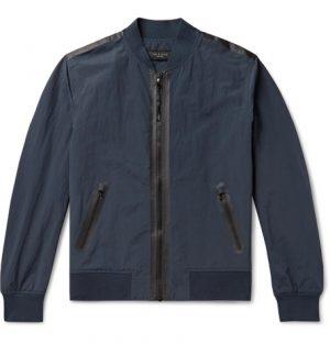 rag & bone - Nylon and Cotton-Blend Bomber Jacket - Men - Navy