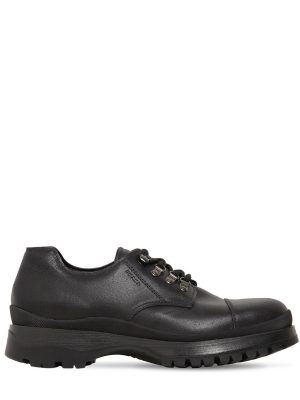 40mm Brixxen Leather Lace-up Shoes