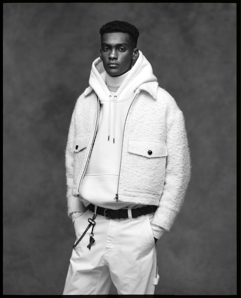 AMI taps Samer Rahma to front its fall-winter 2019 campaign.