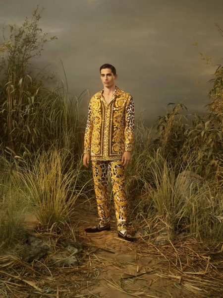 Atelier Versace Looks West for Fall '19 Collection