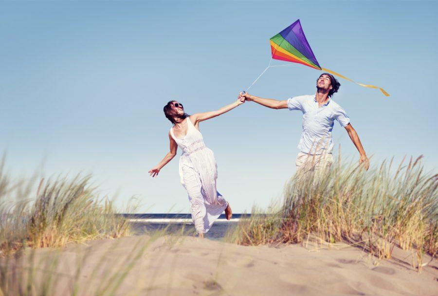 Beach Flying Kite
