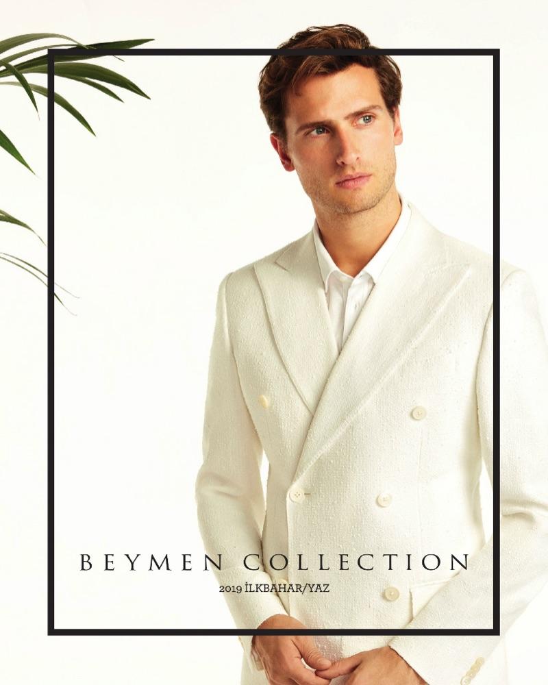 Tom Warren stars in Beymen Collection's spring-summer 2019 lookbook.