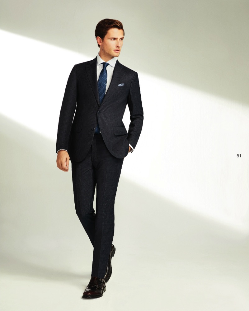 Dressed to impress, Tom Warren suits up in Beymen Collection.