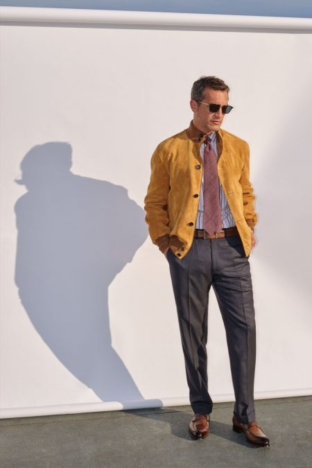 Brioni is Tailored Perfection for Spring '20 Collection