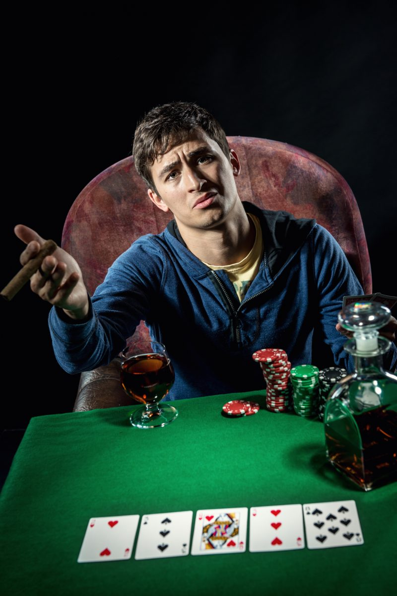 Casual Poker Player