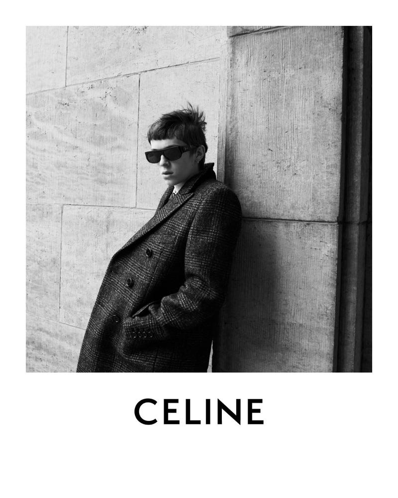 Tobias Vincentz fronts Celine's fall-winter 2019 men's campaign.