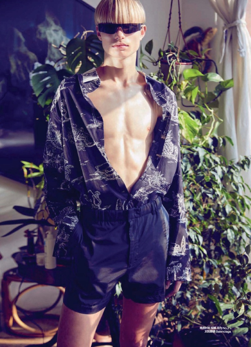 Futuristic Retro: Christophe 't Kint for GQ China