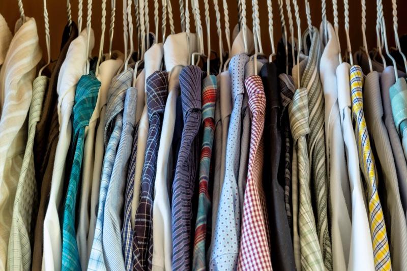 Clothing Selection Mens Closet