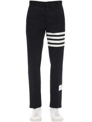 Cotton Twill Chino Pants