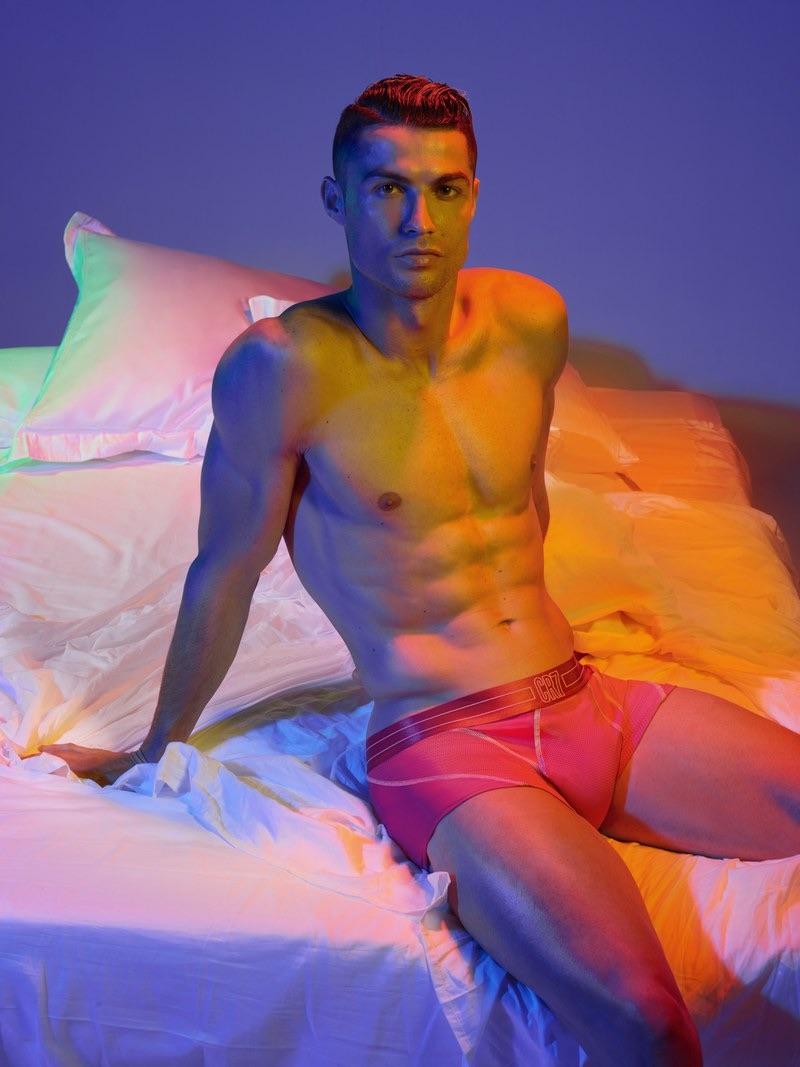 Cristiano Ronaldo fronts the new CR7 underwear campaign.