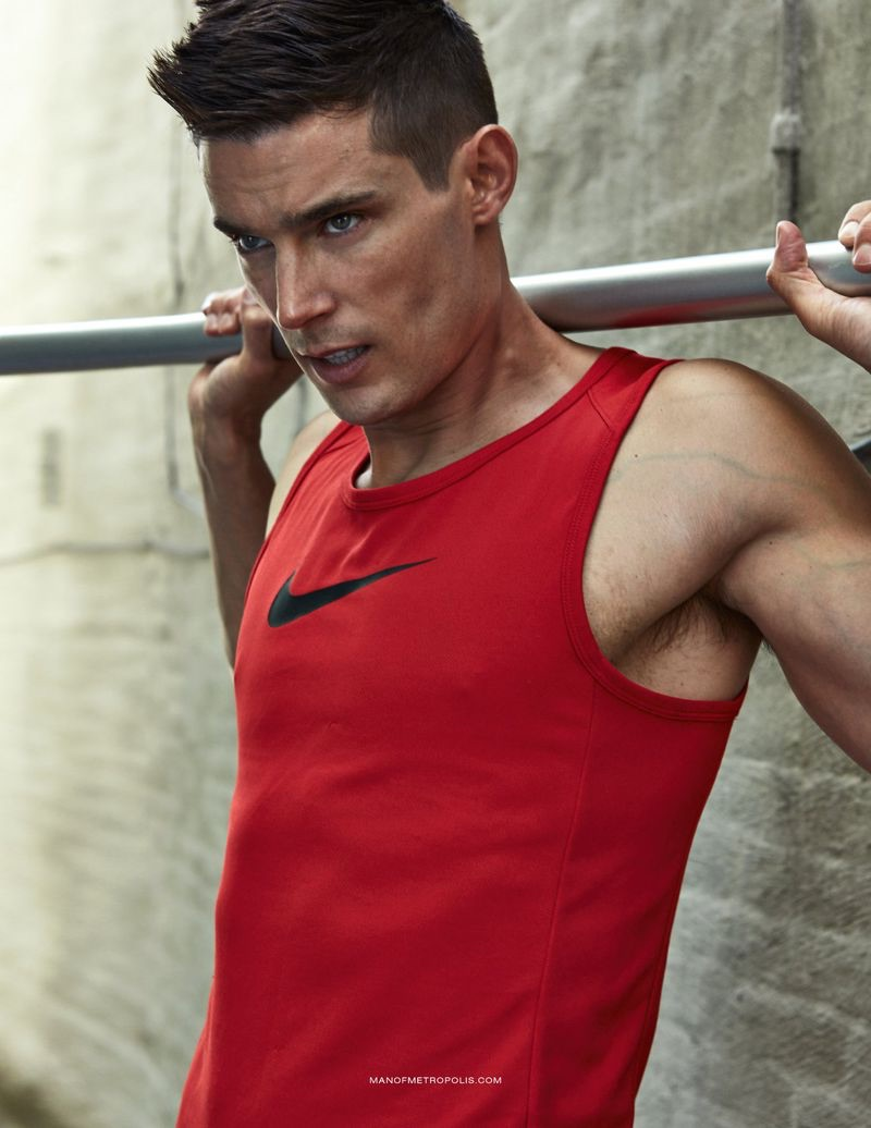 Danny Schwarz Goes Sporty for Man of Metropolis