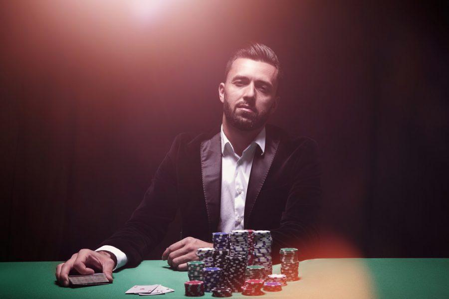 Dapper Man Tuxedo Jacket Casino