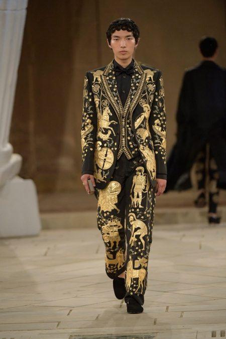 Dolce & Gabbana Embraces Hellenic Spirit for Alta Sartoria Collection
