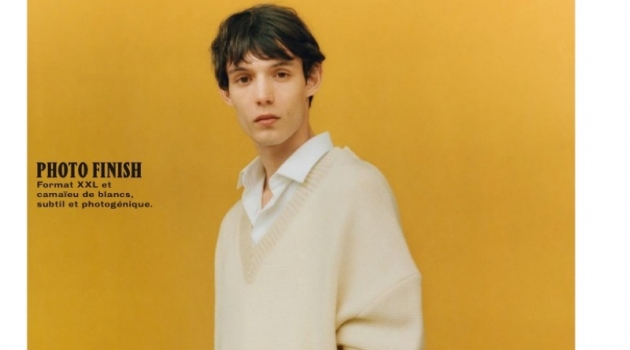 Dylan Roques Inspires in Soft Neutrals for GQ France
