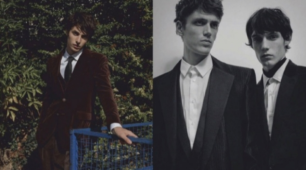 Dylan Roques, Oscar Kindelan & Xavier Gibson Don Tailored Style for GQ Latin America