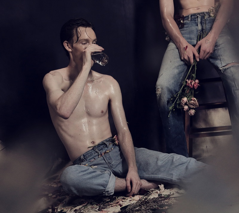 Braxton Caudill & Matthew Pitt in 'Flower Boys'