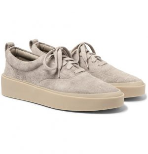 Fear of God - 101 Brushed-Suede Sneakers - Men - Gray