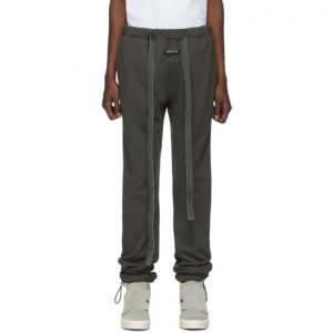 Fear of God Black Relaxed Lounge Pants