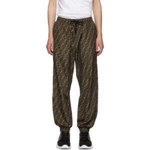 Fendi Brown Forever Fendi Lounge Pants