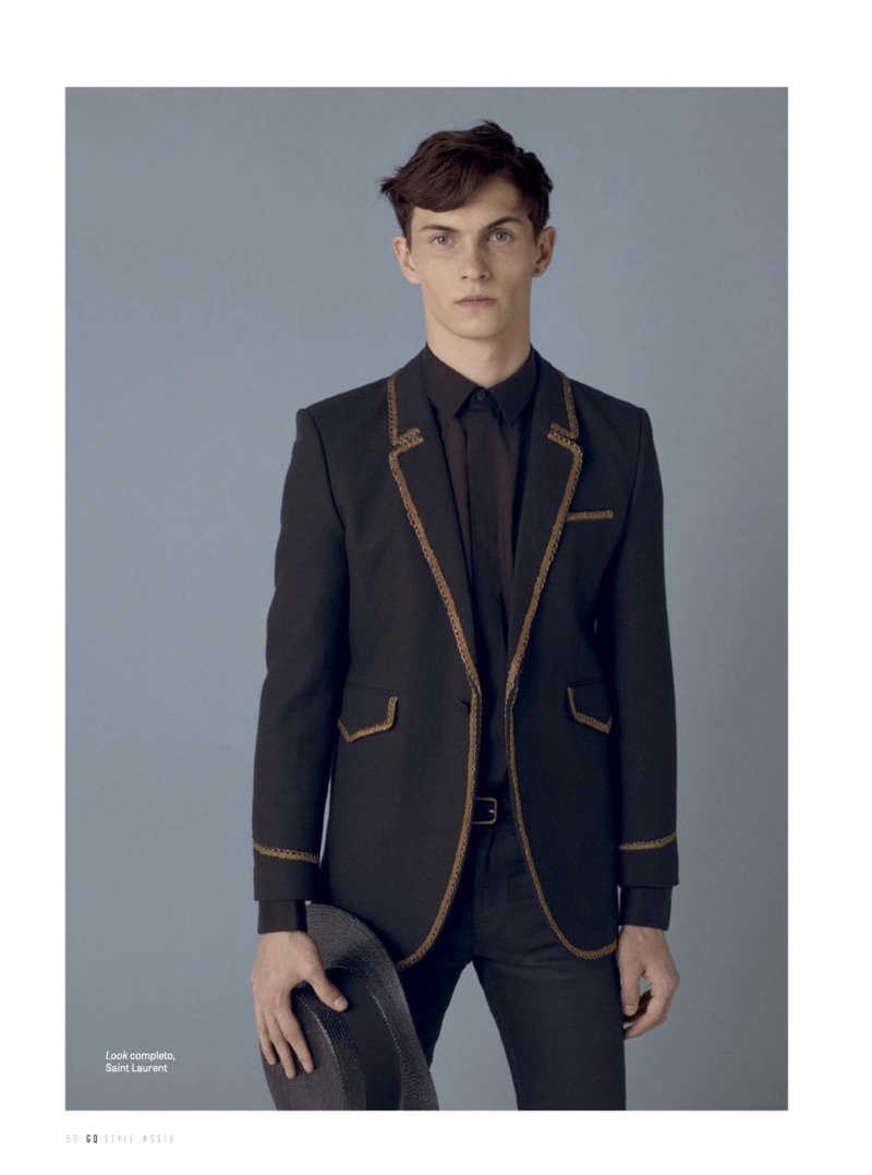 Suits of the Season: Clément Chabernaud, Baptiste Radufe + More for GQ Style México