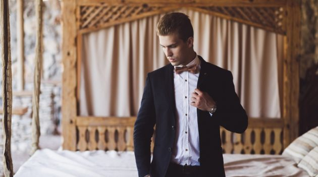 Groom Wedding Day Bed Suit